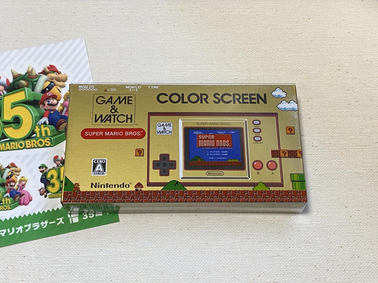 ゲーム&ウオッチ スーパーマリオブラザーズ 35th 202011 03