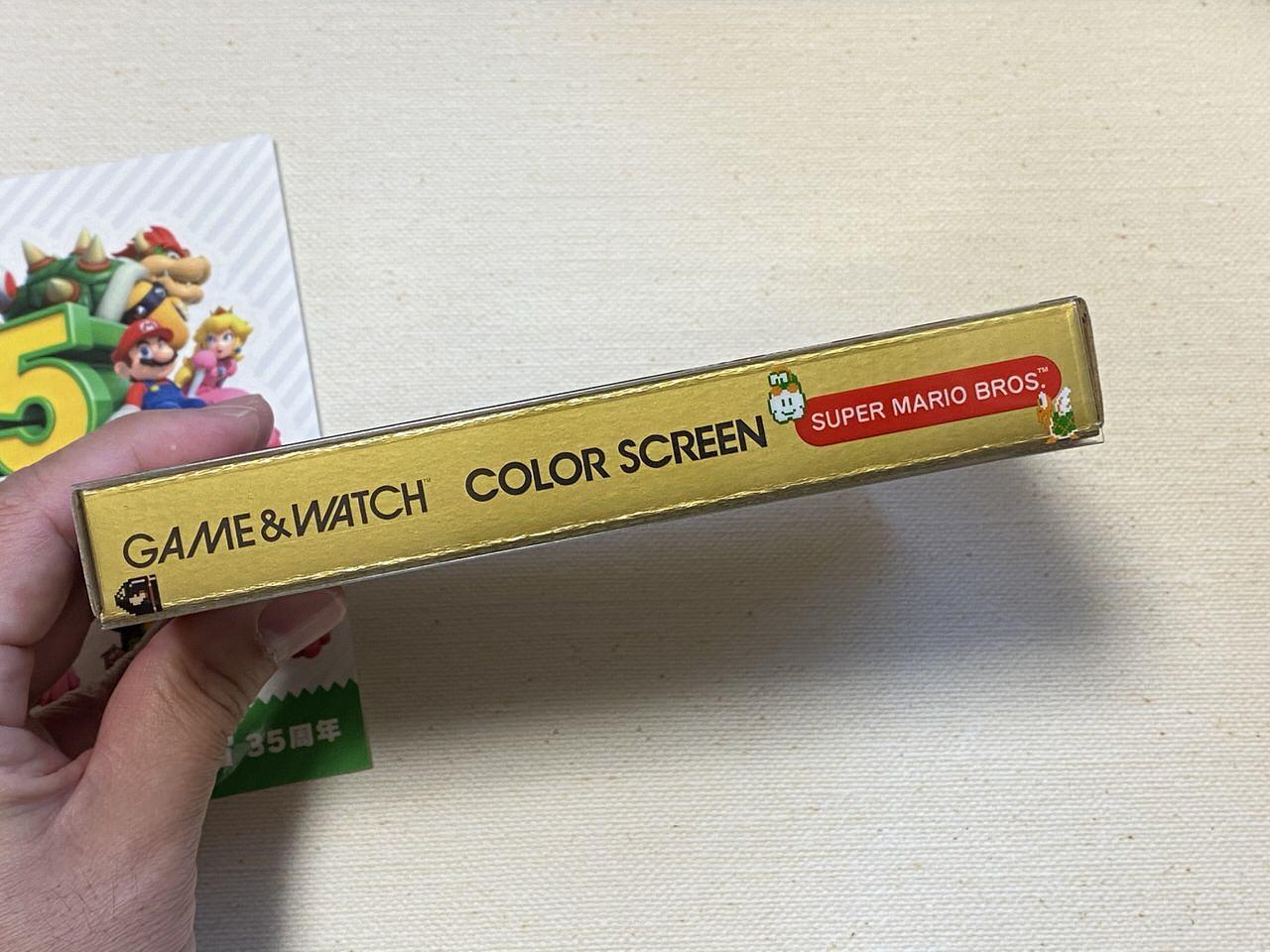 ゲーム&ウオッチ スーパーマリオブラザーズ 35th 202011 05