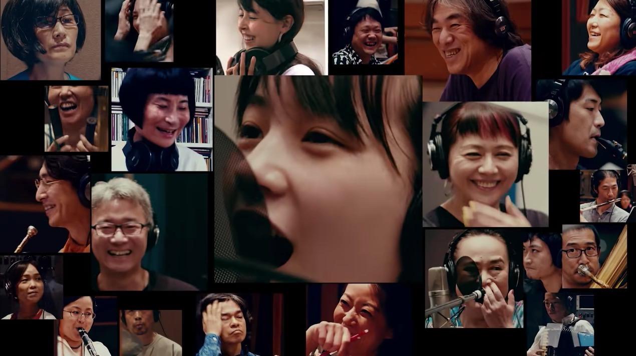 のん&大友良英&Sachiko Mの3人によるユニット「のんとも。M」が発売するアルバムから先行して「明日があるさ」のMV公開