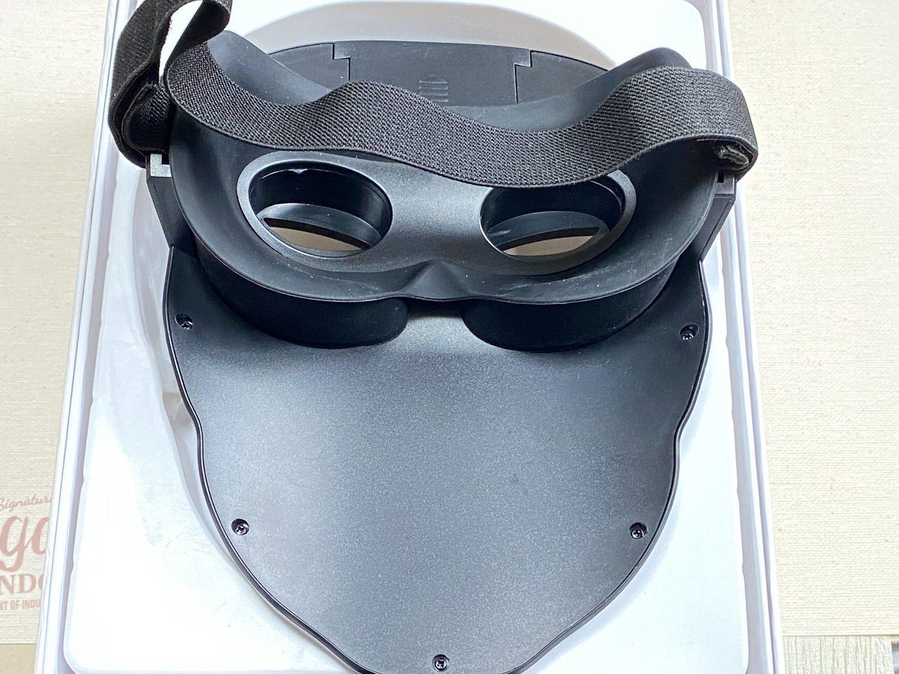 LEDディスプレイ搭載のフェイスマスク「Shining Mask(シャイニングマスク)」を買ってみた 04