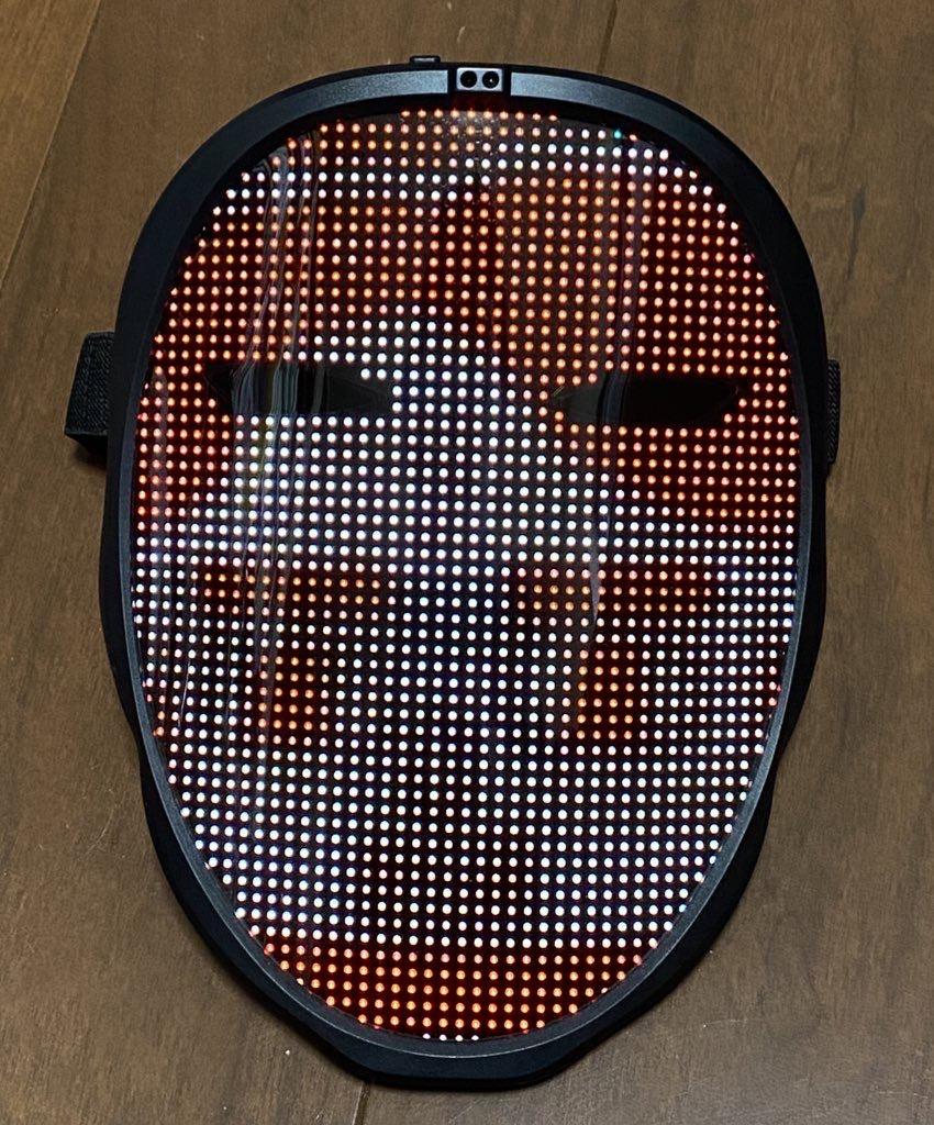 LEDディスプレイ搭載のフェイスマスク「Shining Mask(シャイニングマスク)」を買ってみた 14