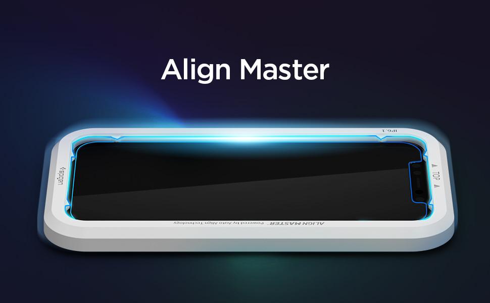 Spigen、iPhone 12シリーズ専用のガイド枠付きガラスフィルム「Align Master」をAmazon・楽天市場で発売