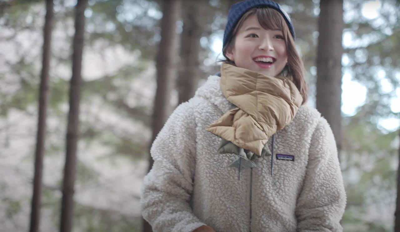 札幌テレビがソロキャンブームに乗っかってアナウンサーのソロキャン動画をYouTubeで公開 3