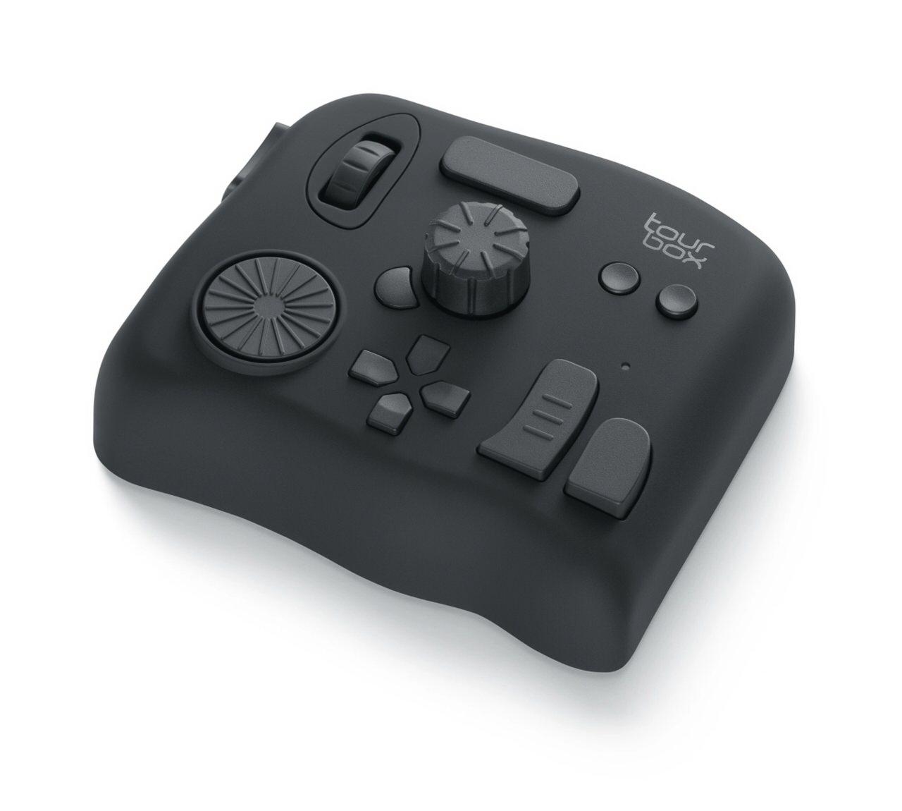 動画編集・画像編集を効率化するための左手用デバイス「TourBox」が2,000円オフの期間限定クーポン配布中