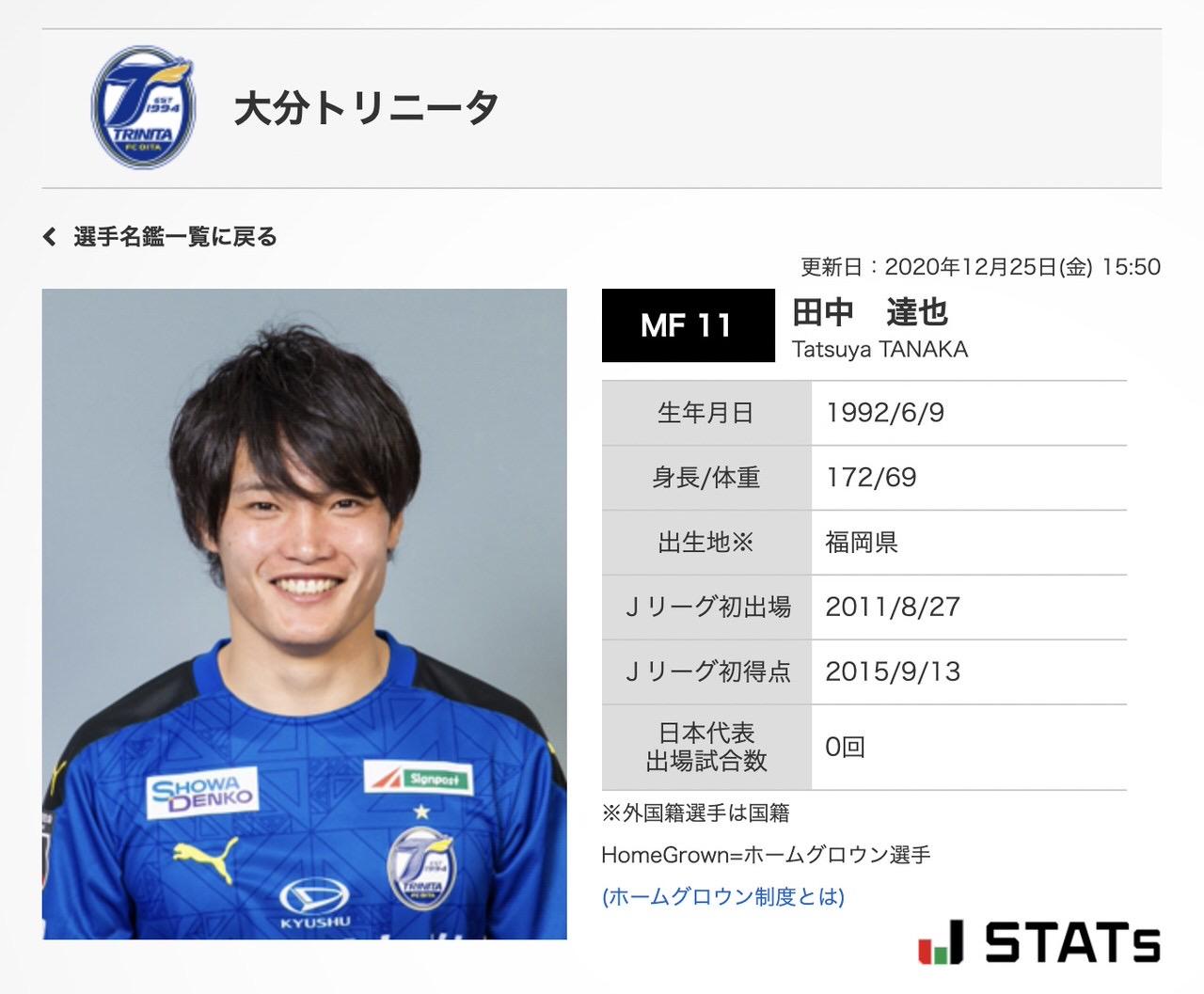 大分トリニータから浦和レッズに移籍した田中達也の背番号は「11」田中達也・11が復活!