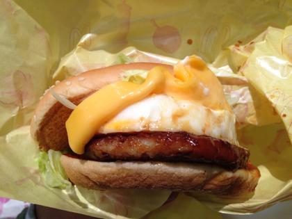 マクドナルドで「チーズてりたまバーガー」を食す!チキンナゲットの梅ソースも美味し