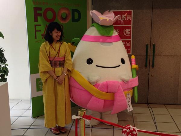 会津若松のフードフェアで地元の美味いもんを食べてきた!鳥モツ、唐揚げが旨味!
