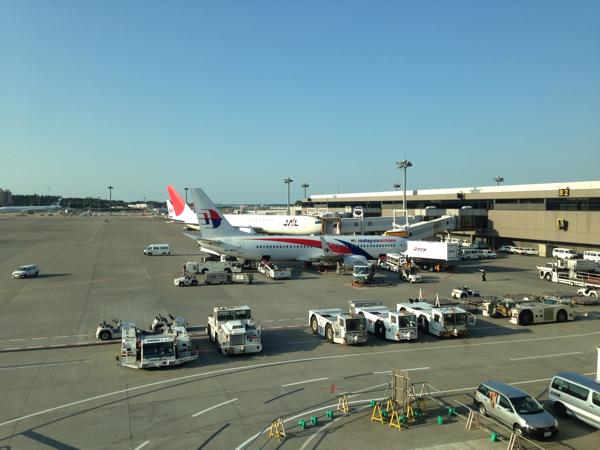 【コタキナバル】マレーシア航空、成田空港からの直行便初便に搭乗します!