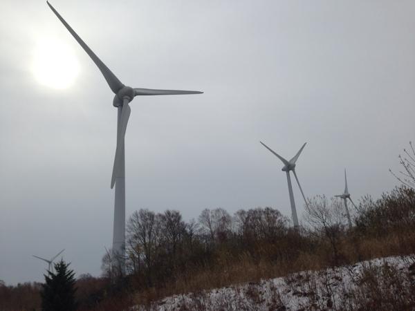 「布引高原」風力発電の風車(郡山) #福島美味 #郡山