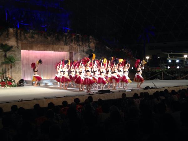 これがいわきの宝塚か!フラガールのステージ、圧巻すぎ!「スパ リゾート ハワイアンズ」 #勝手にいわきガイド