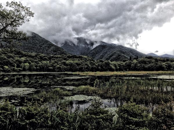 「観音沼森林公園」と「岳観音堂」静かな、静かな、沼でした。(会津下郷) #福島美味 #会津下郷