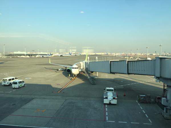 「ソラシド エア」羽田空港から 鹿児島空港まで空の旅〜機内ではゆず風味のあご出汁スープを飲もう!