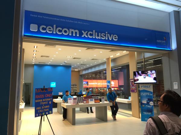 【SIMカード】マレーシアのKlia2空港でSIMカード「celcom」を契約してみた → あまりにあっさり契約できて驚愕! #マレーシア0泊3日