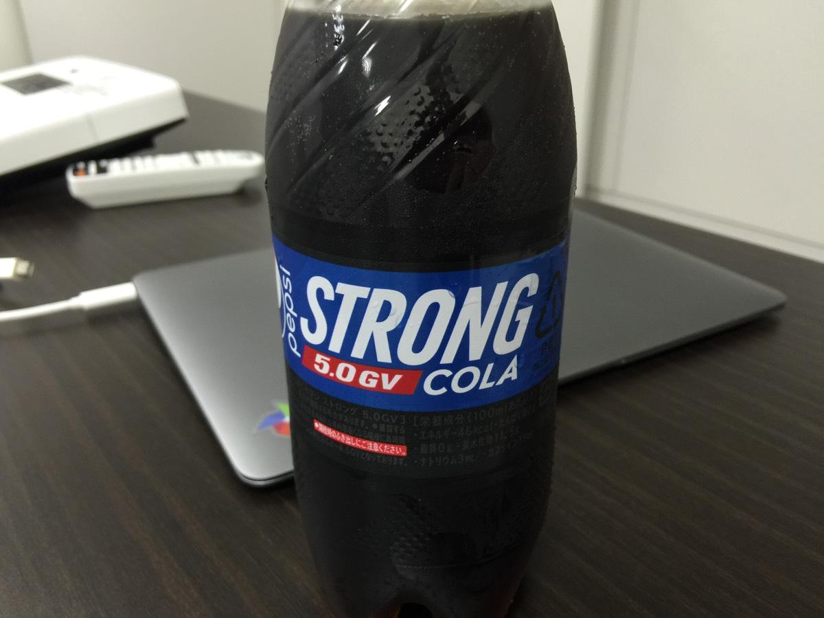 史上最強に炭酸が強いと噂の「ペプシストロング 5.0GV」飲んでみた