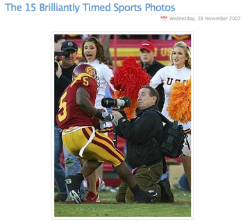 """スポーツの""""すごい瞬間""""の写真ベスト15"""