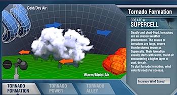 竜巻のことを学ぶ「Tornado Handbook」