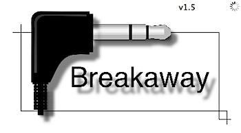 ヘッドフォンの抜き差しでiTunesを停止する「Breakaway」