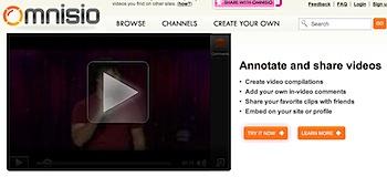 YouTubeの動画を編集して共有する「Omnisio」
