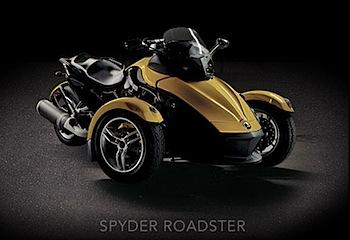三輪バイク「SPYDER ROADSTER」