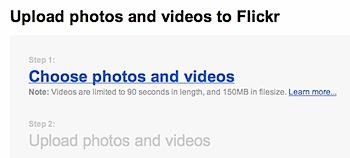 「Flickr Video」動画を試してみた!