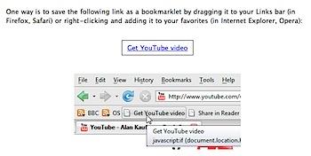 YouTubeの動画を高画質なMP4でダウンロードするブックマークレット