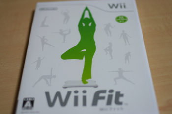 「Wii Fit(Wiiフィット)」届きました