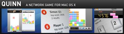 ネットワーク対戦できるMac OS X用テトリス「Quinn」