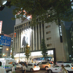 マルイメン新宿でメガネ「ジャポニズム」をONEDARI
