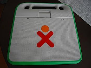 「One Laptop per Child(OLPC)」がようやく手元に!