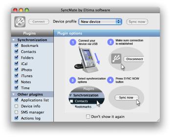 Macとアドエスを「SyncMate」で同期