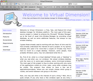 Virtualdimension