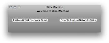 ネットワーク越しにTimeMachineする「iTimeMachine」