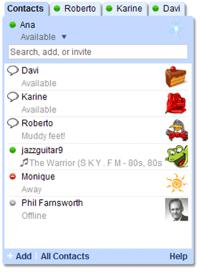 Talk Images Gadget Roster