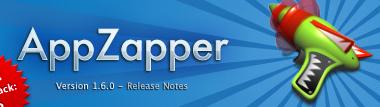 アプリケーションをアンインストールする「AppZapper」