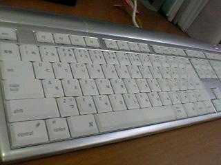 会社の新しいキーボード