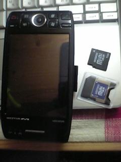 「W-ZERO3」用miniSDメモリカード