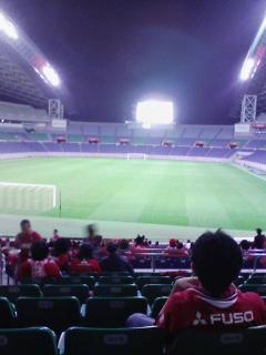 埼玉スタジアムでパブリックビューイング