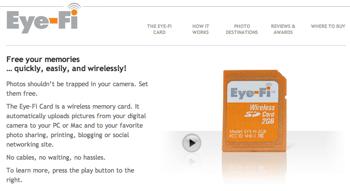 デジカメをWiFi対応にする「Eye-Fi」が欲しくなってきた