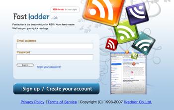 海外版livedoor Reader「Fastladder」リリース