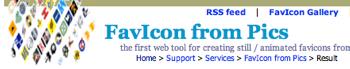 画像からfaviconを作成する「FavIcon from Pics」