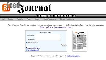 RSSフィードを新聞風PDFで表示する「FeedJournal」