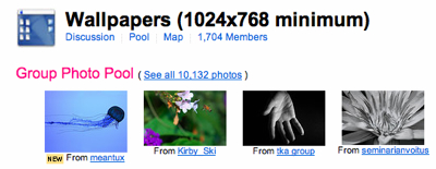 Flickr Wallpapers