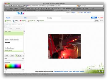 Flickr Picnik10