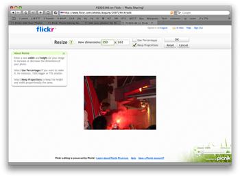 Flickr Picnik7
