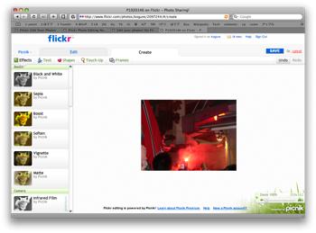 Flickr Picnik9