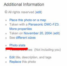 Flickr Stats 1