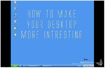 Windowsのデスクトップにウェブを表示させる方法