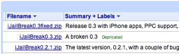 "「iPod touch」""脱獄""アプリ「iJailBreak」がPPC対応"