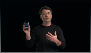 「iPhone」の機能を紹介する動画