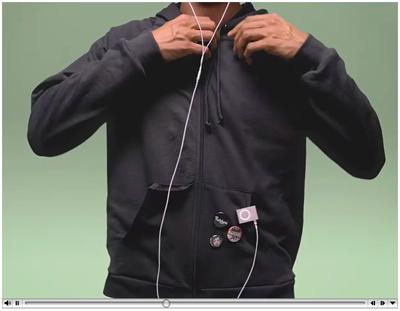 iPod shuffleのテレビCM